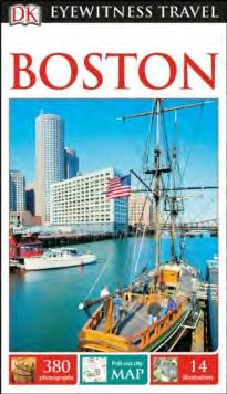 BOSTON [ENG] -EYEWITNESS TRAVEL GUIDE