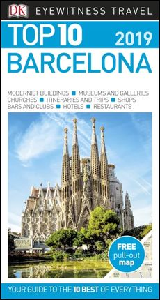 BARCELONA -TOP 10 -EYEWITNESS TRAVEL GUIDE
