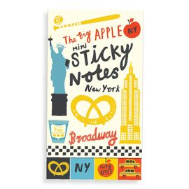 BIG APPLE MINI STICKY NOTES, THE [POST-IT]