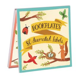 FOREST FRIENDS BOOKPLATES BOOK OF LABELS