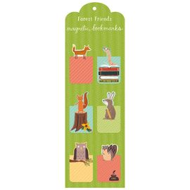 FOREST FRIENDS MAGNETIC BOOKMARKS [PUNTS DE LLIBRE]