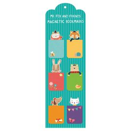 MR. FOX AND FRIENDS (6) MAGNETIC BOOKMARKS