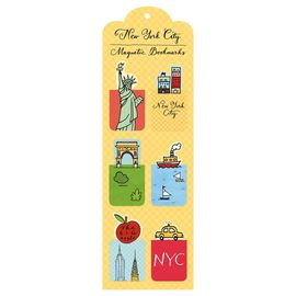NEW YORK CITY MAGNETIC BOOKMARKS [PUNTS DE LLIBRE]