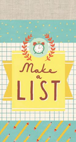 MAKE A LIST -LIST PADS [NOTES]