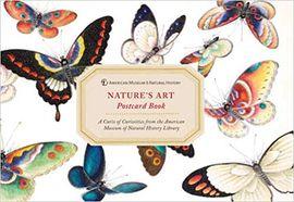 NATURE'S ART POSTCARD BOOK (30 OVERSIZED POSTCARDS)