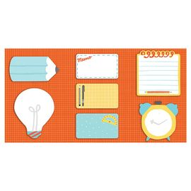 WRITE IT DOWN SHAPED STICKY NOTES
