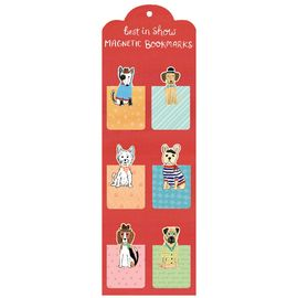 BEST IN SHOW MAGNETIC BOOKMARKS [6 PUNTS DE LLIBRE]