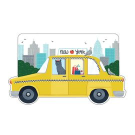 NEW YORK CITY (POST-IT) TAXI SHAPED COVER STICKY NOTES