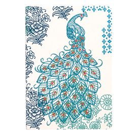 PEACOCK -EMBROIDERED JOURNALS