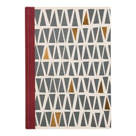 MID-CENTURY MOD CLOTHBOUND JOURNAL [LIBRETA-RAYAS]
