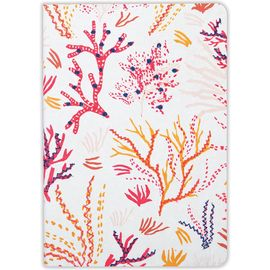 CORAL HANDMADE EMROIDERED JOURNAL