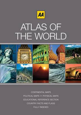 ATLAS OF THE WORLD -AA