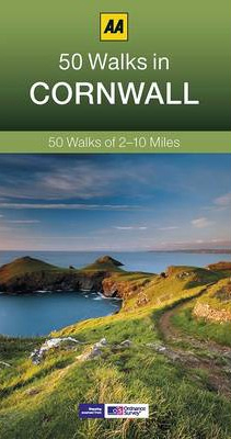 CORNWALL, 50 WALKS IN