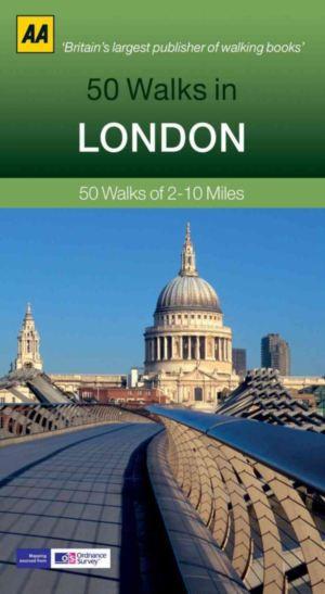 LONDON, 50 WALKS IN
