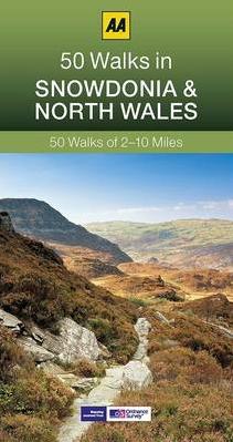 SNOWDONIA & NORTH WALES, 50 WALKS IN