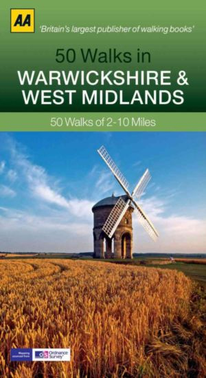WARWICKSHIRE & WEST MIDLANDS, 50 WALKS IN