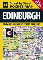 EDINBURGH -STREET BY STREET POCKET MAP