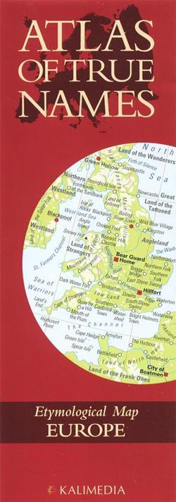 EUROPE. ATLAS OF THE TRUE NAMES