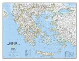 GREECE [MURAL] 1:1.491.000 -NATIONAL GEOGRAPHIC