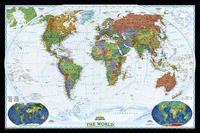 622077 WORLD DECORATOR PETIT. 1:36.384.000 [MURAL] -NATIONAL GEOGRAPHIC