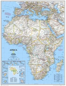 622110 AFRICA [MURAL] 1:14.244.000 -NATIONAL GEOGRAPHIC