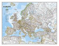 620070 EUROPE [MURAL] 1:8.425.000 -NATIONAL GEOGRAPHIC