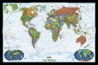 622080 WORLD DECORATOR GRAN 1:20.977.000 [MURAL PLASTIFICAT] -NATIONAL GEOGRAPHIC