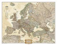 620323 EUROPE EXECUTIVE (MURAL) 1:8.425.000 -NATIONAL GEOGRAPHIC
