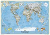 WORLD CLASSIC GRAN (ENG) [MURAL PLASTIFICAT] 1:24.000.000 -NATIONAL GEOGRAPHIC