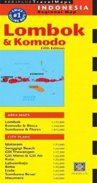 LOMBOK AND KOMODO 1:175.000- PERIPLUS TRAVEL MAPS