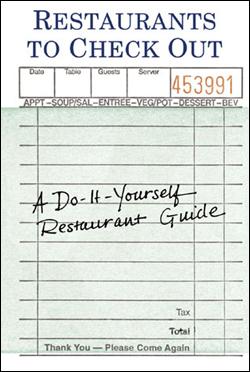 RESTAURANTS TO CHECK OUT [LIBRETA 12X17]
