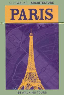 PARIS CITY WALKS. ARCHITECTURE [CARTAS]