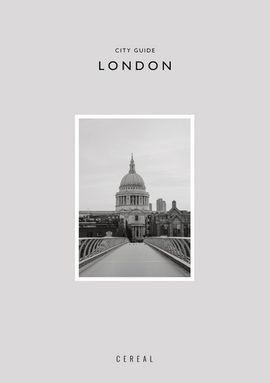 LONDON. CITY GUIDE -CEREAL