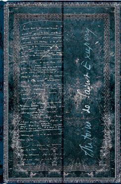 SAINT-EXUPERY [MINI] TIERRA DE HOMBRES [10X14 RAYAS] MANUSCRITOS BELLOS -PAPERBLANKS
