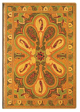 AMBAR MINI [9,5X14 RAYADO] BUKHARA -PAPERBLANKS