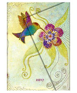 2017 HUMMINGBIRD [SEMANAL] AGENDA -PAPERBLANKS