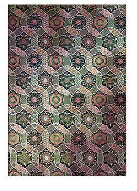 CHAKRA. GRANDE [21X30] SACRED TIBETAN TEXTILES -PAPERBLANKS