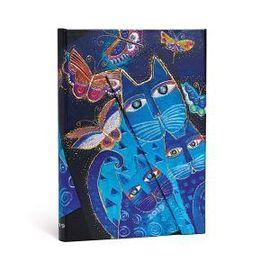 2019 AGENDA BLUE CATS & BUTTERFLIES [12,5 X 17,8] -PAPERBLANKS