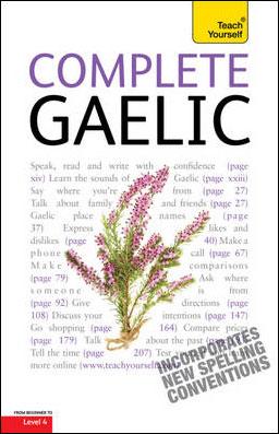 COMPLETE GAELIC (BOOK) -TEACH YOURSELF