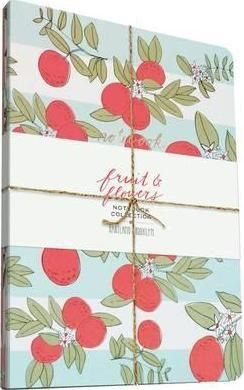 FRUIT & FLOWER NOTEBOOK COLLECTION