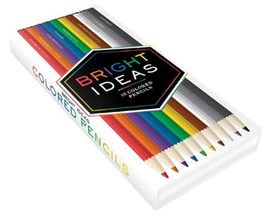 BRIGHT IDEAS. 10 COLORED PENCILS -LLR