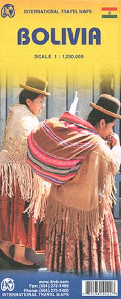 BOLIVIA 1:1.250.000 -ITMB