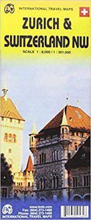 ZURICH 1:8.000 & SWITZERLAND NW 1:301.000 -ITMB