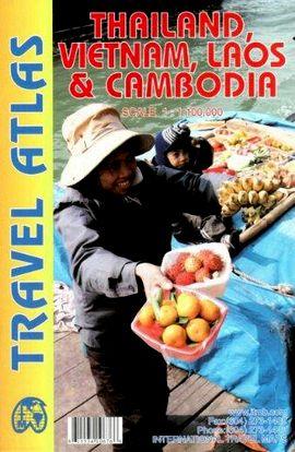 THAILAND, VIETNAM, LAOS & CAMBODIA [1:1.100.000] -TRAVEL ATLAS -ITMB