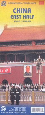 CHINA EAST HALF 1:3.000.000 -ITMB