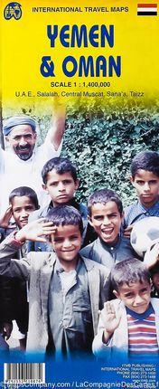 OMAN & YEMEN [UAE] 1:1.400.000 -ITMB