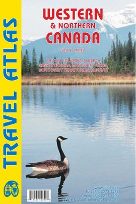 WESTERN & NORTHERN CANADA - TRAVEL ATLAS -ITMB