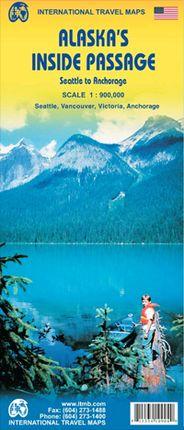 ALASKA'S INSIDE PASSAGE 1:900.000 -ITMB