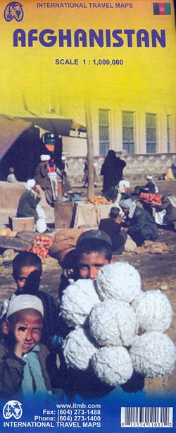 AFGHANISTAN 1:1.000.000 -ITMB