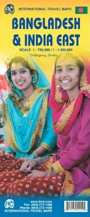 BANGLADESH 1:750.000 & INDIA EAST 1:1.500.000 -ITMB